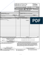 Form 2306 Witn Computation Electric Bill