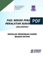Cover Rekod Pinjaman