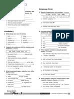 English Plus 2 Unit 8 Standard Test