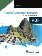 Historia, Geografía y Economía 1 (Muestra) - Santillana