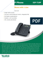 YEALINK-T19P-Datasheet.pdf
