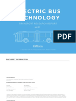MRCagney Electric Bus Technology Transport Research Report