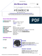 Alabandite Mineral Data1