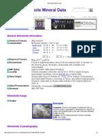 Akimotoite Mineral Data1