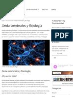 Onda Cerebrales y Fisiología - Autosanación y Espiritualidad