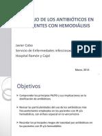 ANTIBIÓTICOS - HEMODIÁLISIS-2014