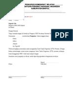 Pengantar DPK Untuk Pengajuan STR(1)
