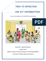 Revised ICT Integration Instructional Guide