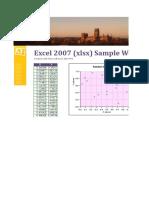 Sample Excel File for Dummies II
