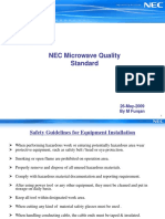 NEC TP MW Installation Standards