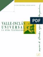 Valle Inclan Universal La Otra Teatralidad