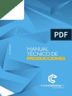 Manual Tecnico de Producciones CONCIENCA TV_IMPRIMIR