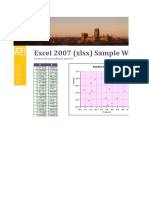 Sample Excel File for Dummies III
