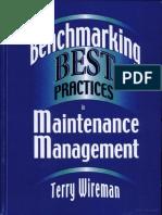 Best Practice in Maintenace Management