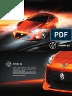 Catalogo Toyota Gt86 Caracteristicas Detalles Datos Modelos Especificaciones Tecnicas Dimensiones Sistemas Equipamiento