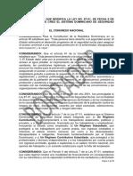 Modificacion Ley 87 01