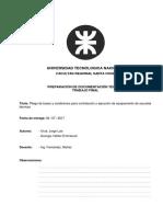 1 - Trabajo Final Preparación de Documentación Técnica