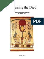 Egyptian Amduat, Isis Raising the Djed