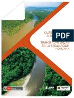 Libro - Cursos de Agua Internacional y Cuencas Transfronterizas en La Legislacion Peruana