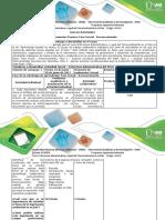 Guía de Actividades y Rúbrica de Evaluación - Fase inicial  - Reconocimiento