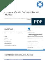 2 - Preparación de Documentación Técnica - Pliego de Bases y Condiciones