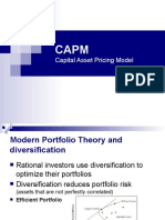Asset Pricing Model