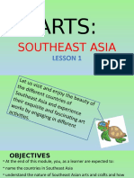 Arts Southeast Asia Lesson1 g8 q1