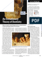 An Evolutionary Theory of Dentistry (Science 2012 Gibbons)