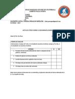 Lista de Cotejo Sobre El Resumen-glosario