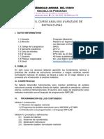 Silabo UAC An+ílisis Avanzado