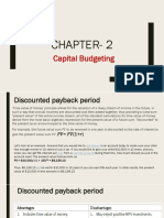 Capital Budgeting Ch 2