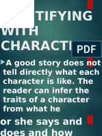 Identifying With Characters