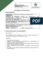 Cuestionario Electicidad Básica 01.