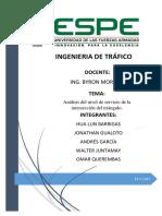 Análisis Del Nivel de Servicio (Triángulo-San Rafael)