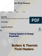 Boilers and Thermic Fluid Heaters