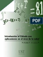Introducción al cálculo con aplicaciones en el área de salud