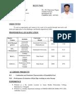 Prem Raj Resume