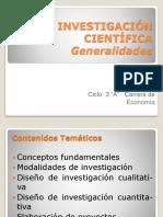28 ABRIL 2017 Generalidades de Investigación
