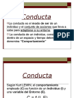 Conducta y Actitud