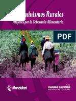 Ecofeminismos Rurales