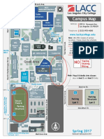 LACC Campus Map Clausen Hall