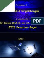 3 klasifikasi pengembangan