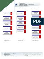 Fluxograma Formação de Docentes