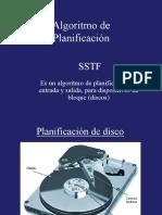 Algoritmo de Planificación SSTF