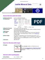 Allochalcoselite Mineral Data1