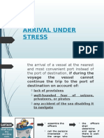 Arrival Under Stress
