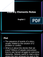 Literary Elements Notes
