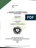 Analisis Gaya Kepemimpinan Pada PT. Perkebunan Nusantara IV (Persero) Bagian Umum