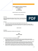 PP No. 27 Tahun 2012 - Ijin Lingkungan