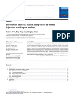 2008-Fabrication of Metal Matrix Composites by Metal Injection Molding-A Review